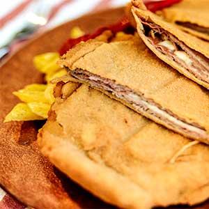 Cachopo plato típico de Asturias